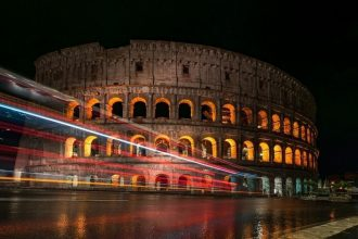 Colosseum by Night Tour with Underground