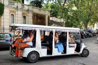 Golf Cart Tour FAM Trip