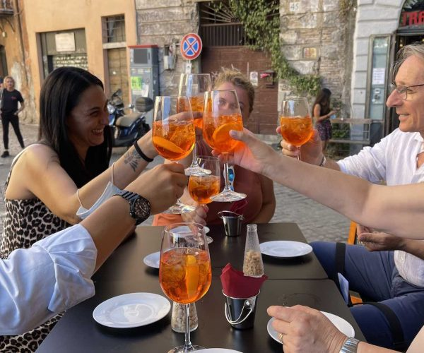 Walks Inside Rome Trastevere Food Tour Smiling