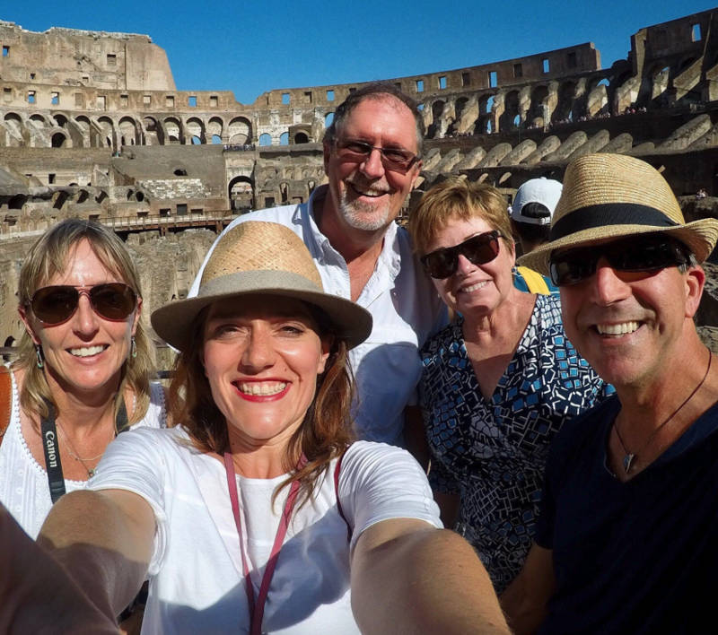 Tour subterráneo VIP por el Coliseo con la antigua Roma