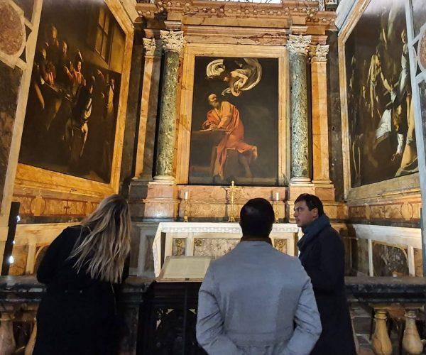 Caravaggio tour privado
