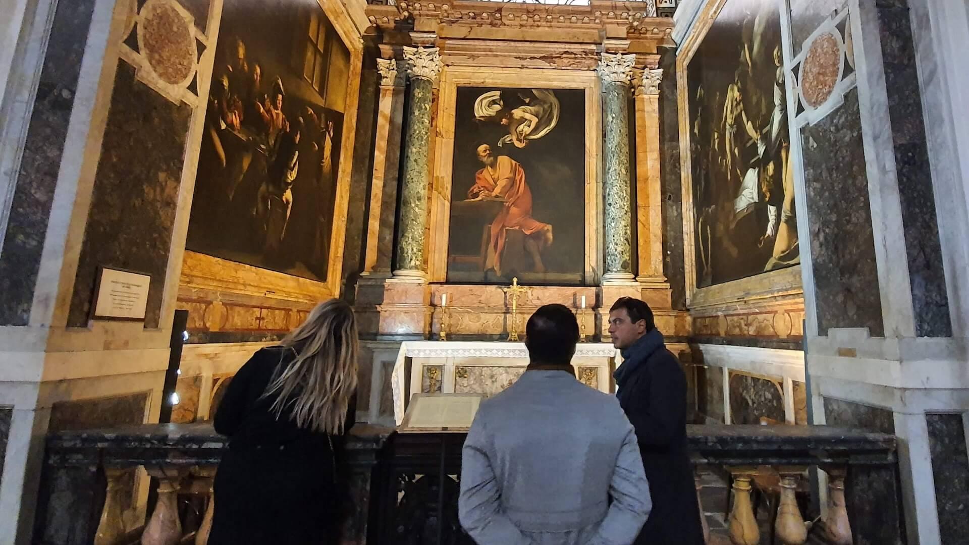 Caravaggio tour private
