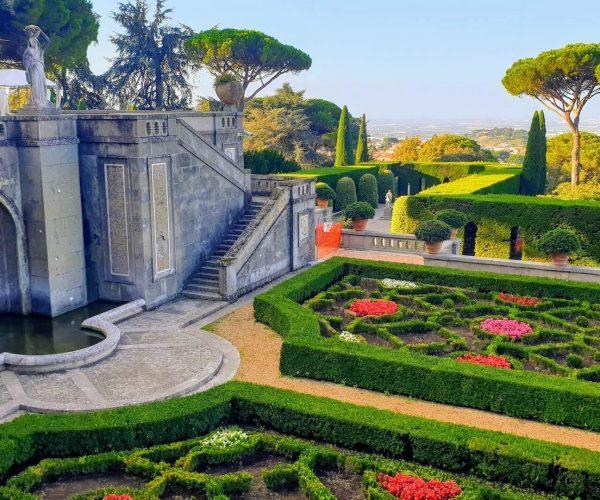 Jardines Castel Gandolfo Baberini