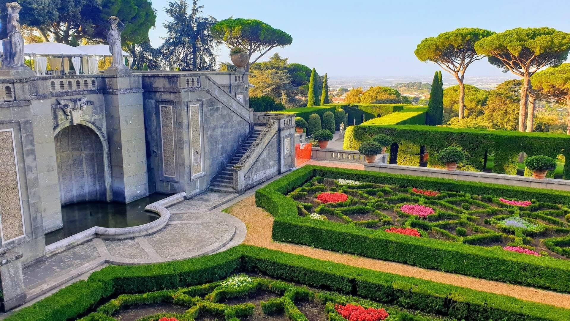Castel Gandolfo Baberini Gardens