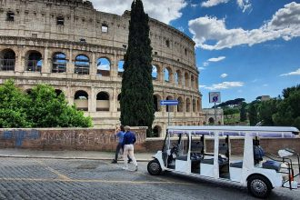 Colosseum Golf Cart cropped