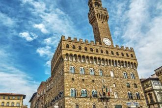 Florence with Accademia or Uffizi Gallery