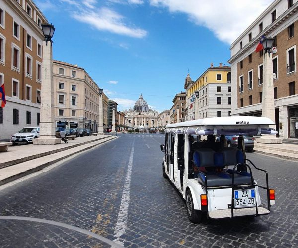 Tour en carrito de golf por el Vaticano