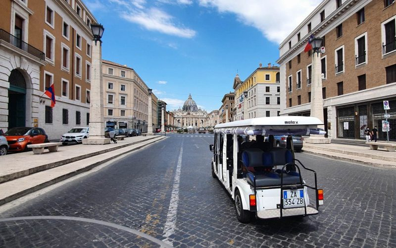 Golf Cart Tour Vatican