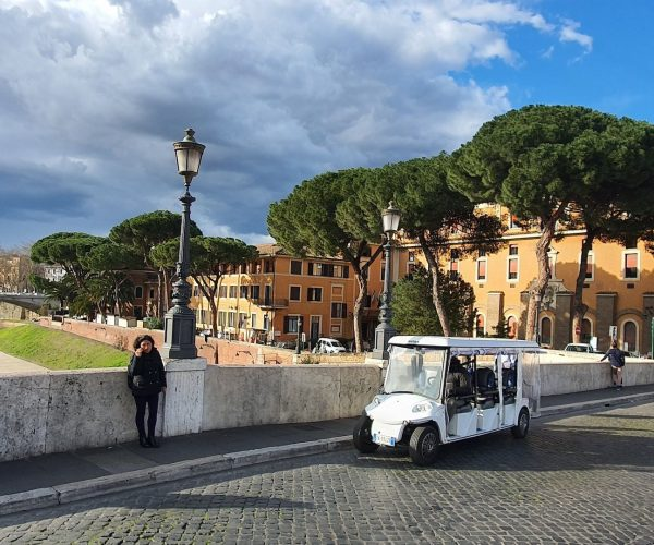 Golf Cart tour of Rome