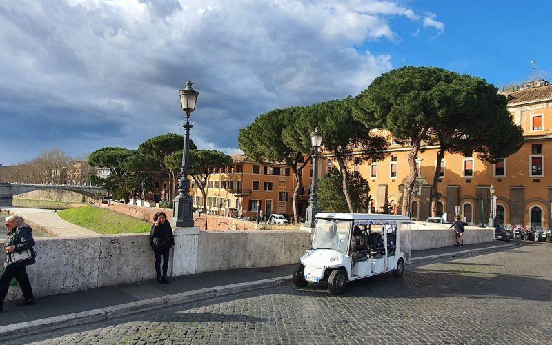 Tour en carrito de golf por Roma