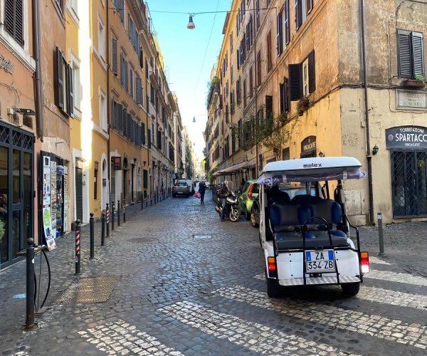 Golf Cart Tour of Rome