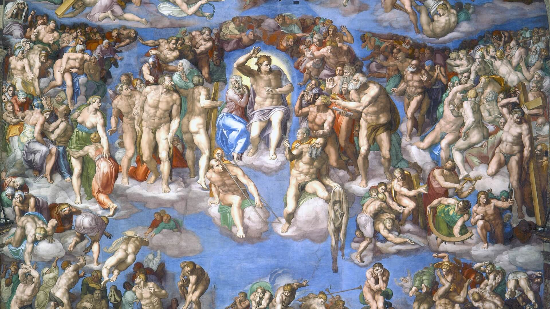 Michelangelo Juicio Final Capilla Sixtina