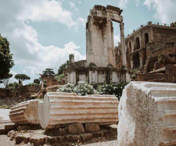 Temple of Vesta in the Roman Forum