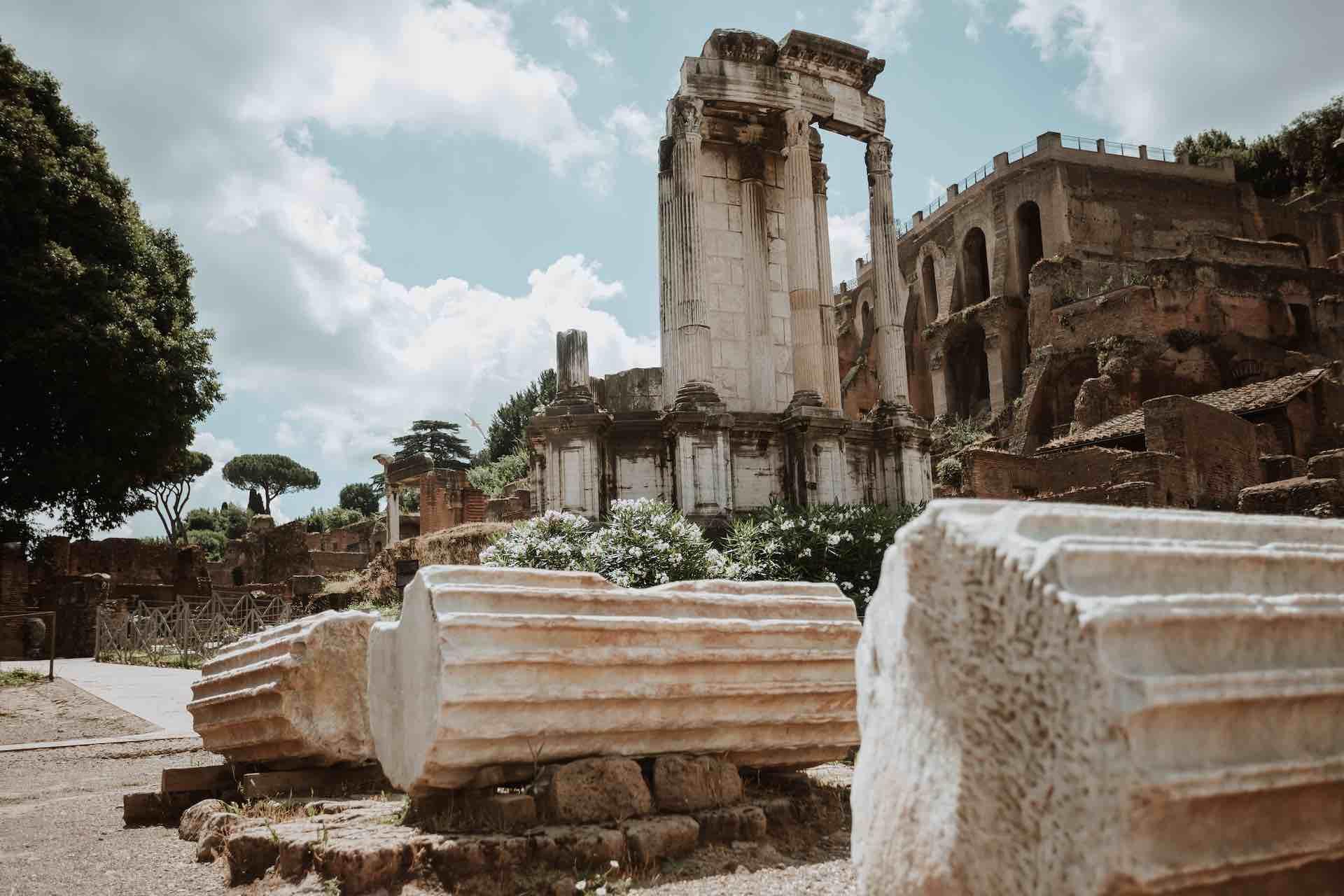 Templo de Vesta en el Foro Romano