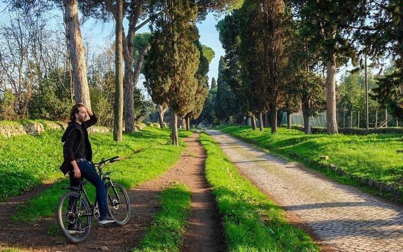 Tour en bicicleta por Appian Way