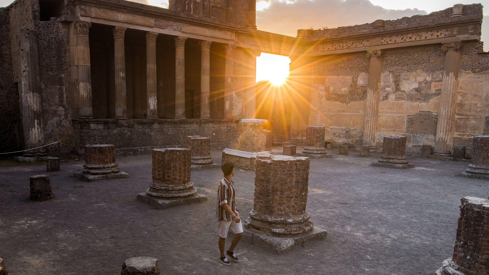Pompeii and Amalfi