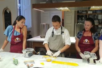 Hands-on Pasta Making & Tiramisù Class | Private