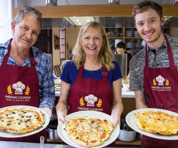 Clase de fabricación de pizza y helado | Grupo pequeño