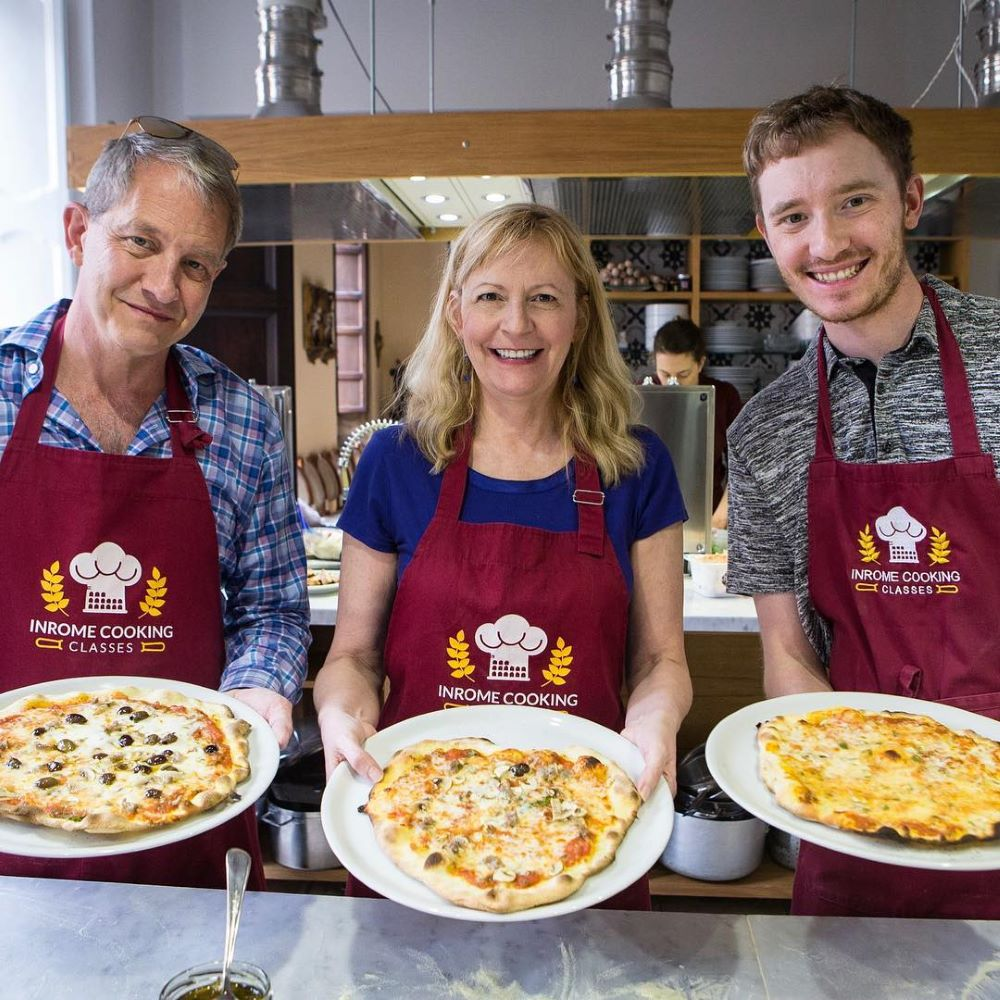 Pizza Making and Gelato Class | Small Group