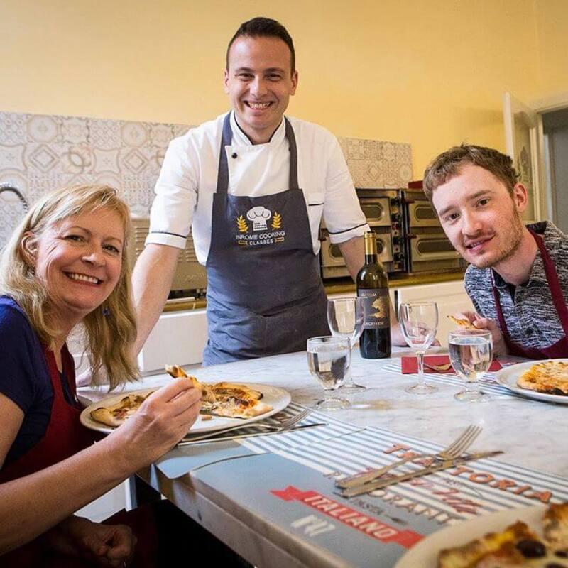 Pizza & Roman Antipasti Class
