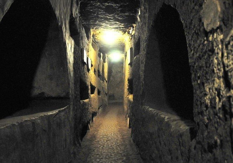 Tour subterráneo de Roma