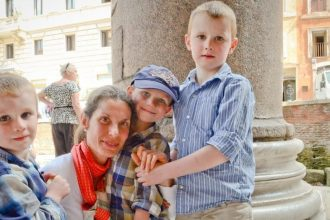 Treasure hunt at the Vatican for kids