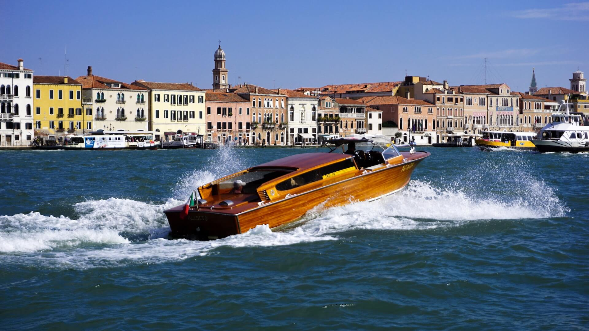 Voyage of the venice lagoon