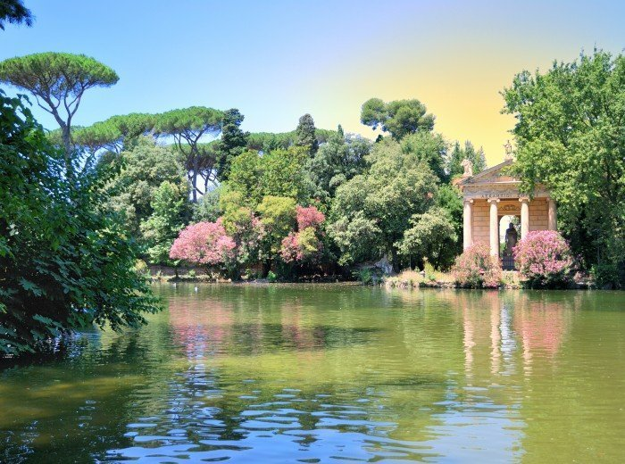 Villa Borghese Gardens and Gallery