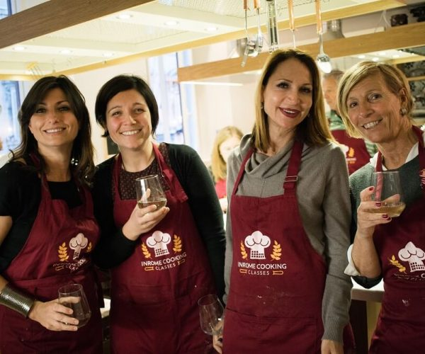 ¡Una clase de cocina con Walks Inside Rome es divertida, amigable y educativa!