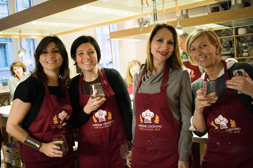 A cooking class with Walks Inside Rome is fun, friendly and educational!