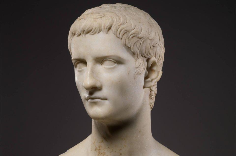 Caligula Marble Bust