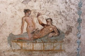 Pompeii Brothel Mosaic