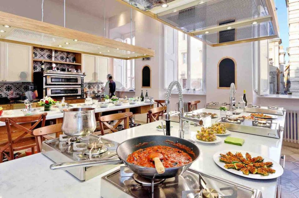 Paseos por las clases de cocina de Roma