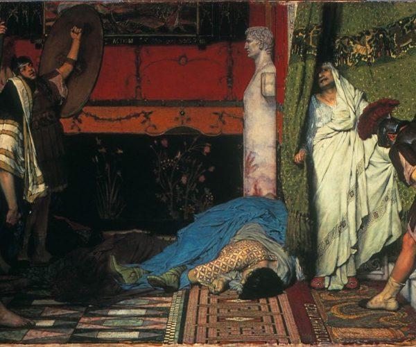 Sir Lawrence Alma Tadema, A Roman Emperor 41 AD