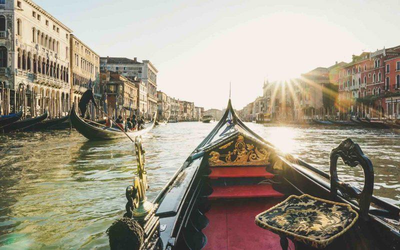 Venice Gondola Gondolier View Grand Canal diego-gennaro