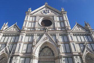 Facade of Santa Croce