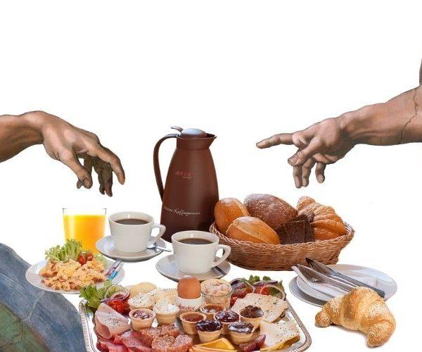 Breakfast at the Vatican